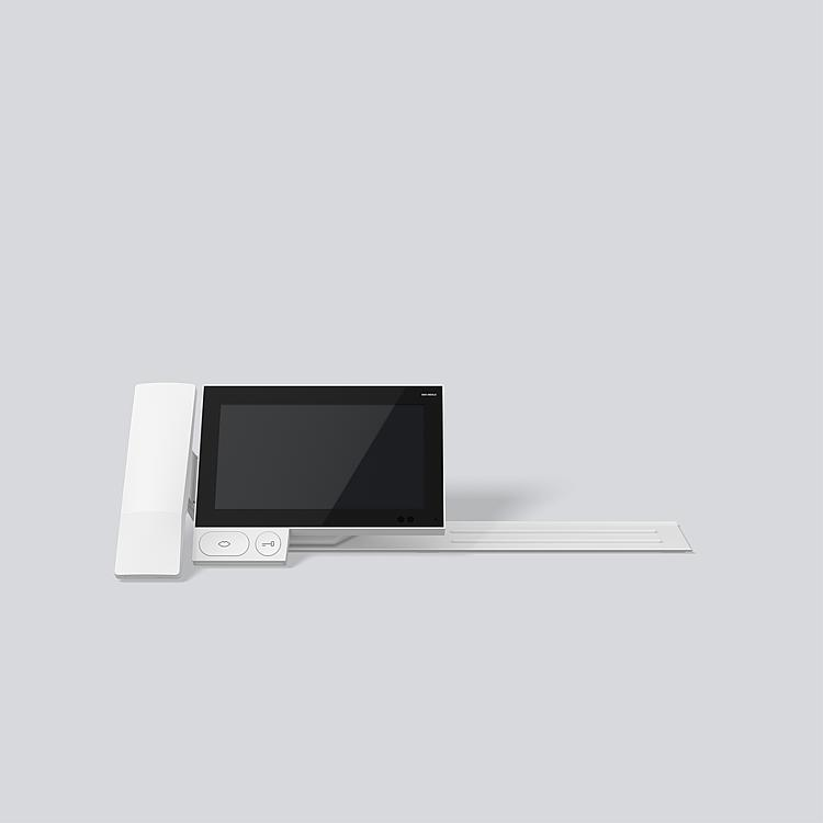 Siedle Axiom for table-top mounting with receiver A 180-21